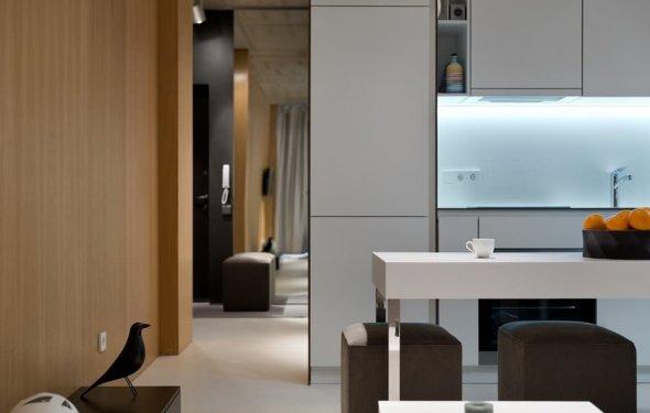 Дизайн квартиры 39 кв. м