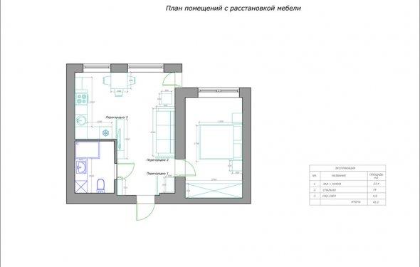 Такая планировка квартиры 47